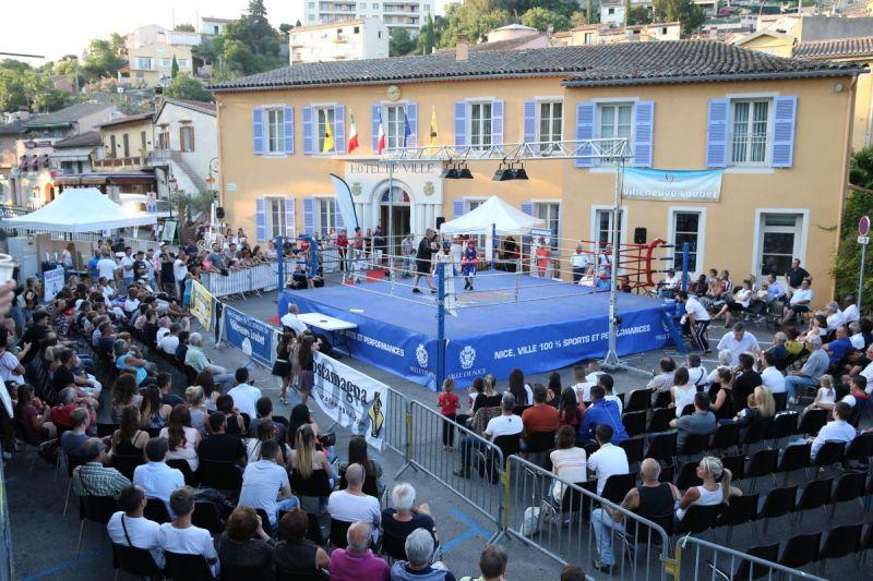 Gala de boxe à Villeneuve Loubet